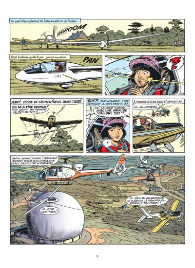 Page 9 yoko tsuno tome 5 - message pour l'éternité