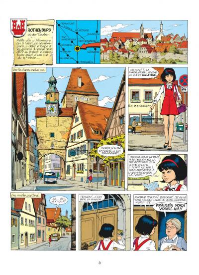 Page 3 yoko tsuno tome 7 - la frontière de la vie