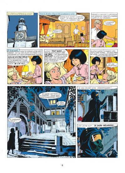 Page 8 yoko tsuno tome 7 - la frontière de la vie