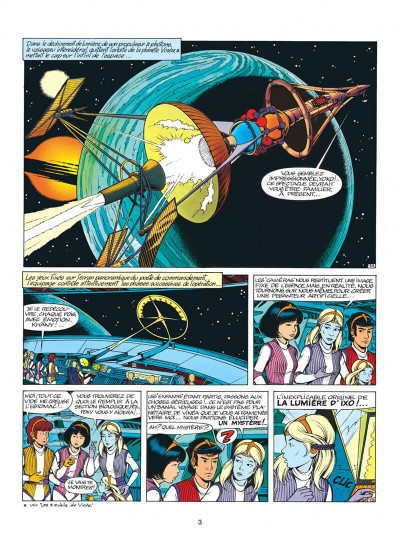 Page 3 yoko tsuno tome 10 - la lumière d'ixo