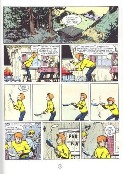 Page 2 Valhardi (série récente) tome 2 - le gang du diamant