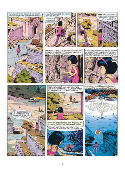 Page 6 yoko tsuno tome 11 - la spirale du temps