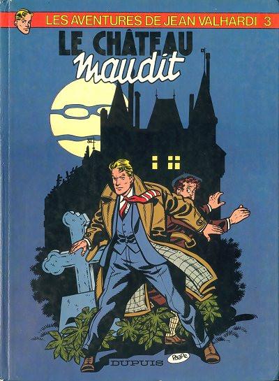 Couverture Valhardi (série récente) tome 3 - le château maudit