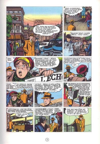 Page 2 Valhardi (série récente) tome 3 - le château maudit