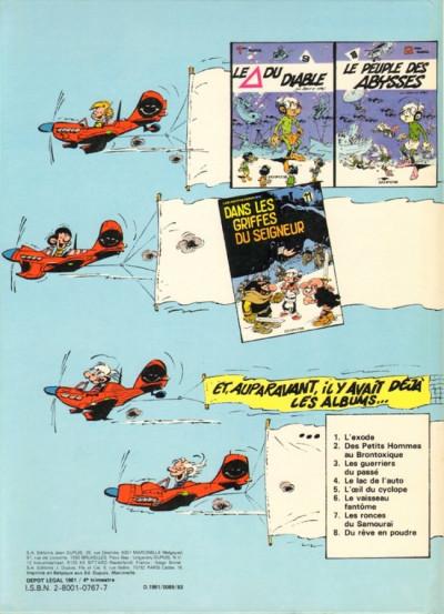 Dos Les petits hommes tome 12 - le guêpier