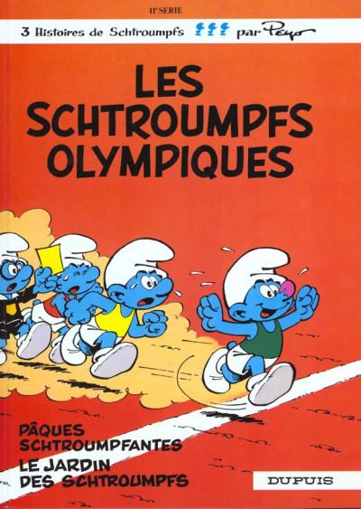 Couverture les schtroumpfs tome 11 - les schtroumpfs olympiques