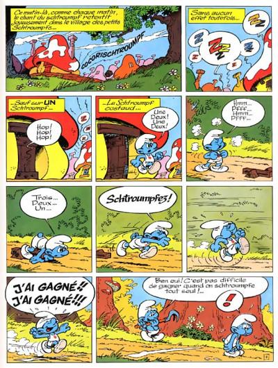 Page 1 les schtroumpfs tome 11 - les schtroumpfs olympiques