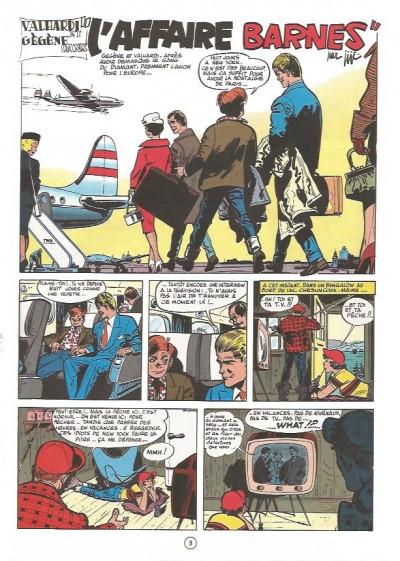 Page 2 Valhardi (série récente) tome 4 - l'affaire barnes