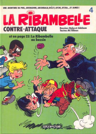 Couverture Ribambelle tome 4 - La ribambelle contre-attaque