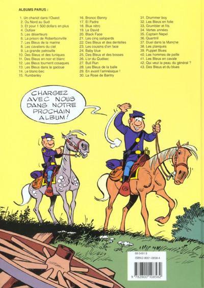 Dos les tuniques bleues tome 1 - un chariot dans l'ouest