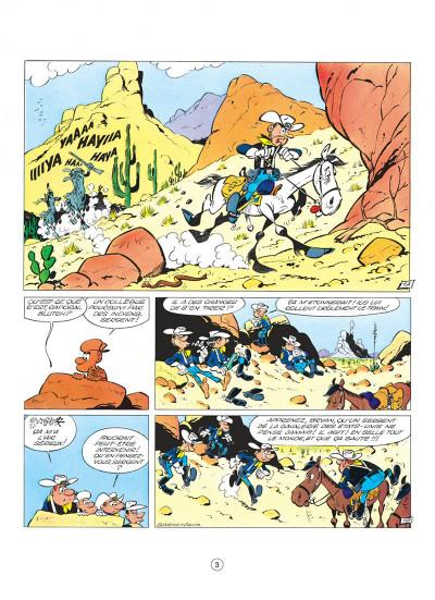 Page 3 les tuniques bleues tome 1 - un chariot dans l'ouest