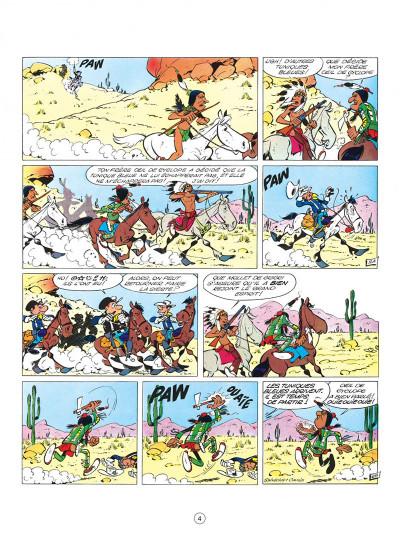 Page 4 les tuniques bleues tome 1 - un chariot dans l'ouest