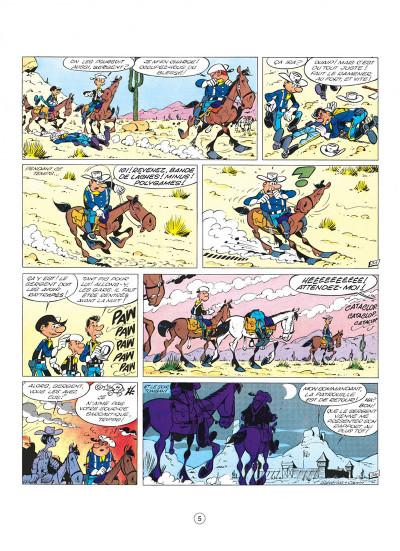 Page 5 les tuniques bleues tome 1 - un chariot dans l'ouest