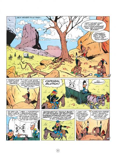 Page 9 les tuniques bleues tome 1 - un chariot dans l'ouest