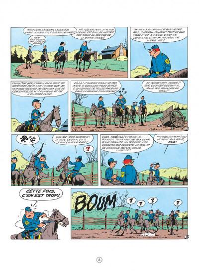 Page 3 les tuniques bleues tome 2 - du nord au sud