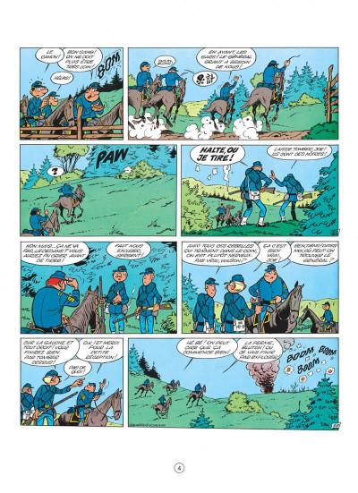 Page 4 les tuniques bleues tome 2 - du nord au sud