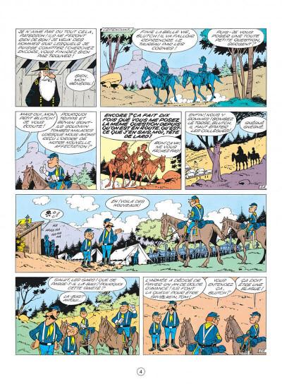 Page 4 les tuniques bleues tome 3 - et pour 1500 dollars en plus
