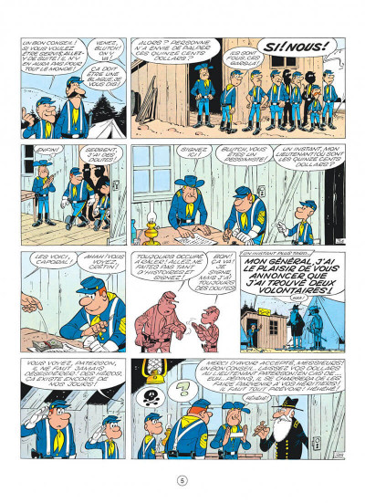 Page 5 les tuniques bleues tome 3 - et pour 1500 dollars en plus