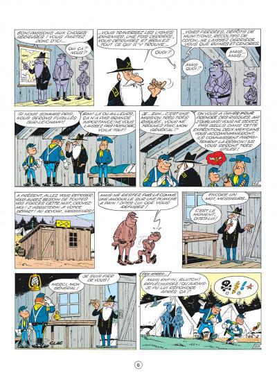 Page 6 les tuniques bleues tome 3 - et pour 1500 dollars en plus