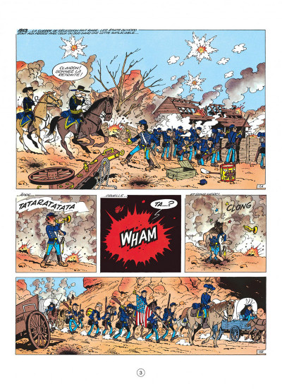 Page 3 les tuniques bleues tome 4 - outlaw