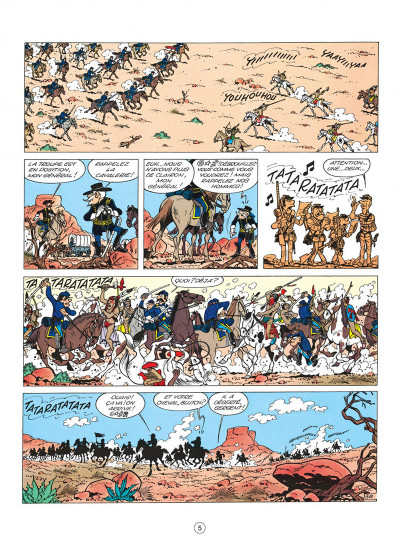Page 5 les tuniques bleues tome 4 - outlaw