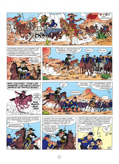 Page 7 les tuniques bleues tome 4 - outlaw