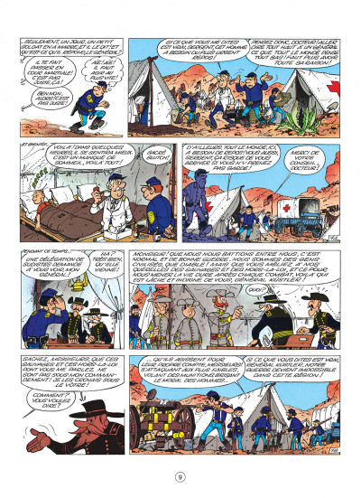 Page 9 les tuniques bleues tome 4 - outlaw