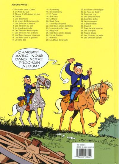 Dos les tuniques bleues tome 5 - les déserteurs