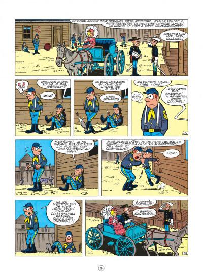 Page 3 les tuniques bleues tome 5 - les déserteurs