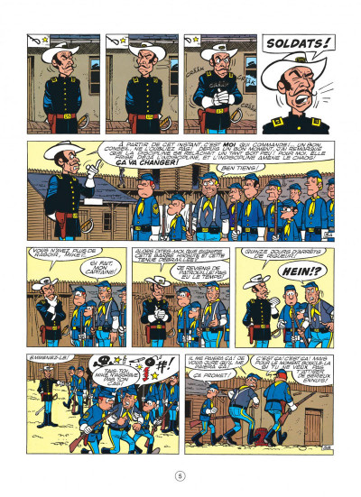 Page 5 les tuniques bleues tome 5 - les déserteurs