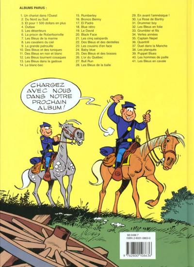 Dos les tuniques bleues tome 6 - la prison de robertsonville