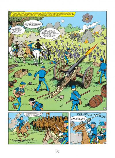 Page 3 les tuniques bleues tome 6 - la prison de robertsonville