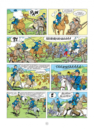 Page 5 les tuniques bleues tome 6 - la prison de robertsonville