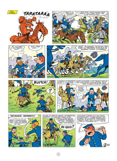 Page 5 les tuniques bleues tome 7 - les bleus de la marine