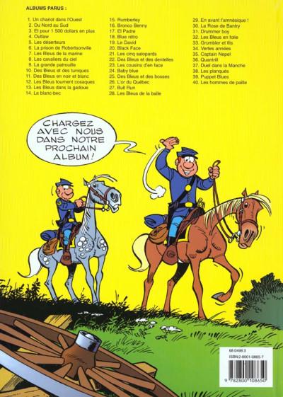 Dos les tuniques bleues tome 8 - les cavaliers du ciel