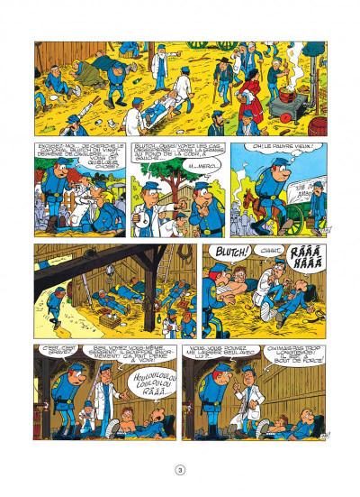 Page 3 les tuniques bleues tome 8 - les cavaliers du ciel