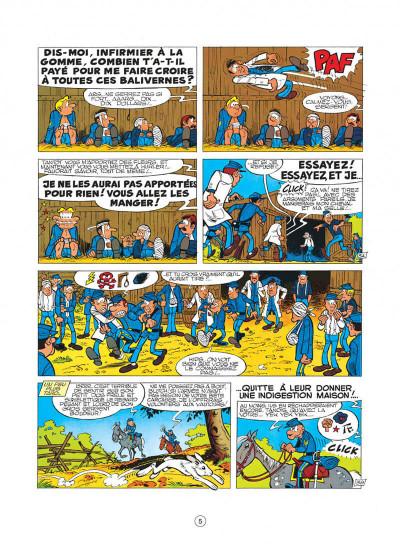 Page 5 les tuniques bleues tome 8 - les cavaliers du ciel