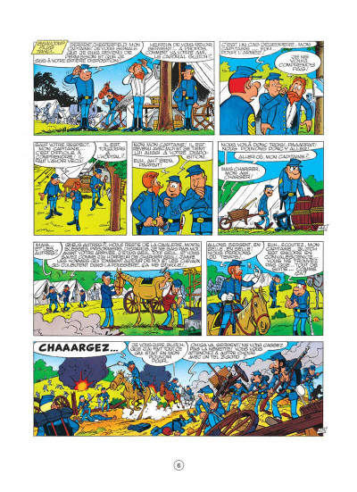 Page 6 les tuniques bleues tome 8 - les cavaliers du ciel