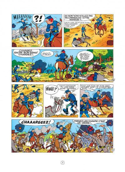 Page 7 les tuniques bleues tome 8 - les cavaliers du ciel