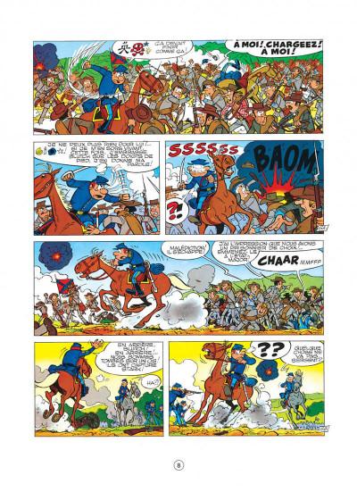 Page 8 les tuniques bleues tome 8 - les cavaliers du ciel