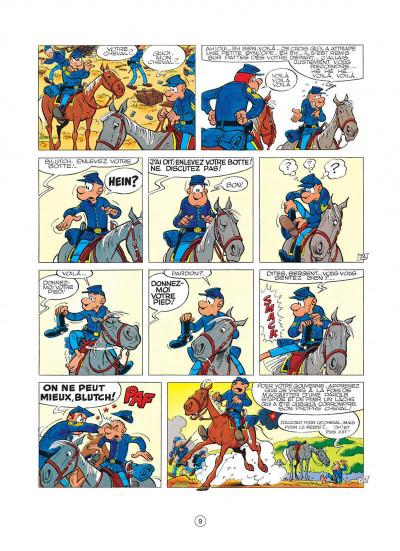Page 9 les tuniques bleues tome 8 - les cavaliers du ciel