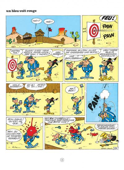 Page 4 les tuniques bleues tome 9 - la grande patrouille