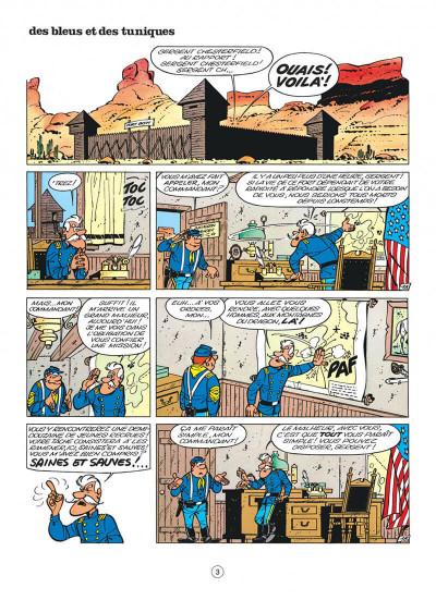Page 3 les tuniques bleues tome 10 - des bleus et des tuniques