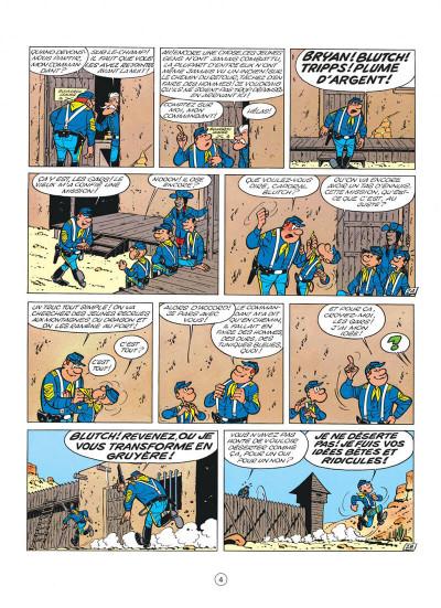 Page 4 les tuniques bleues tome 10 - des bleus et des tuniques