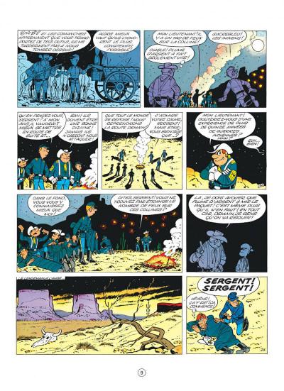 Page 9 les tuniques bleues tome 10 - des bleus et des tuniques