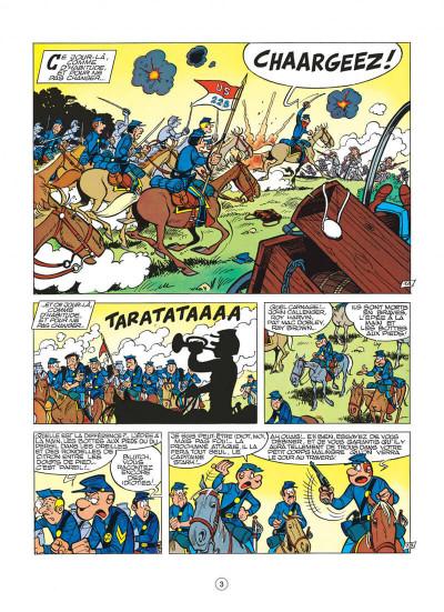 Page 3 les tuniques bleues tome 11 - des bleus en noir et blanc