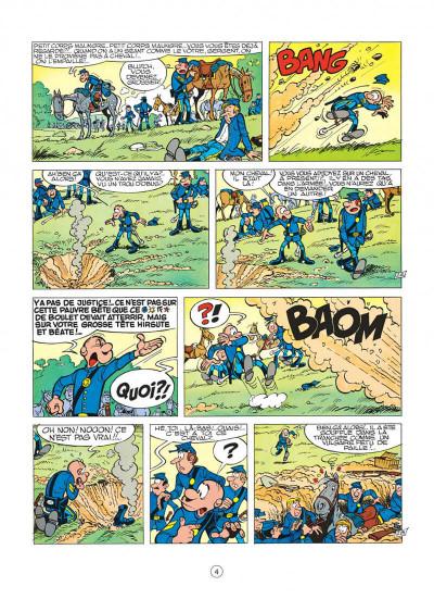 Page 4 les tuniques bleues tome 11 - des bleus en noir et blanc