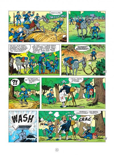 Page 5 les tuniques bleues tome 11 - des bleus en noir et blanc