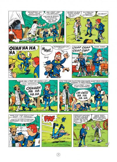 Page 7 les tuniques bleues tome 11 - des bleus en noir et blanc
