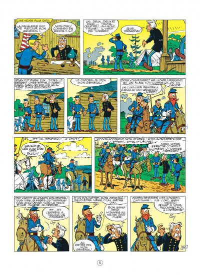 Page 5 les tuniques bleues tome 12 - les bleus tournent cosaques